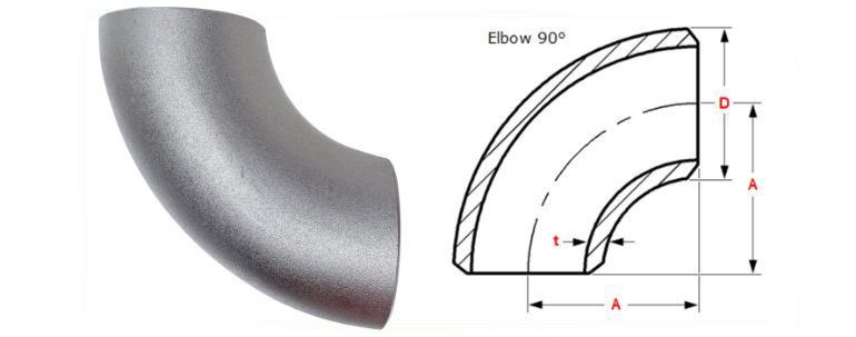 Stainless Steel 347H Pipe Fitting Elbow manufacturers exporters in Africa