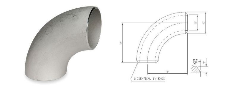 Stainless Steel 321 / 321H Pipe Fitting Elbow manufacturers exporters in Qatar