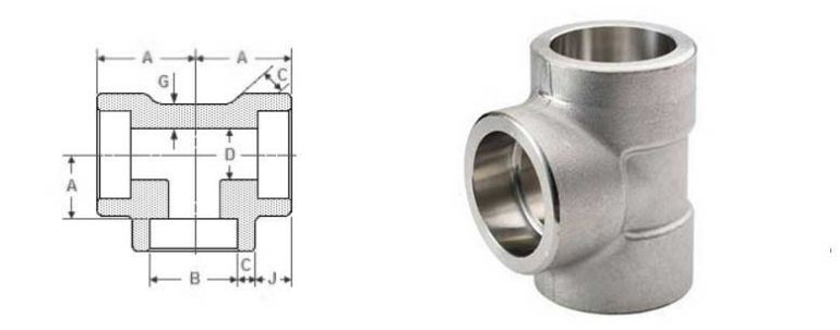 Stainless Steel Pipe Fitting 904l Tee manufacturers exporters in Australia