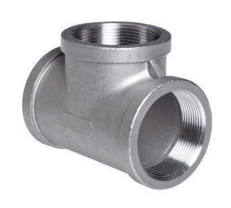 Stainless Steel Pipe Fitting 410 Tee Exporters in Mumbai India