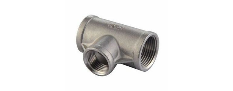 Stainless Steel Pipe Fitting 410 Tee manufacturers exporters in Mumbai India