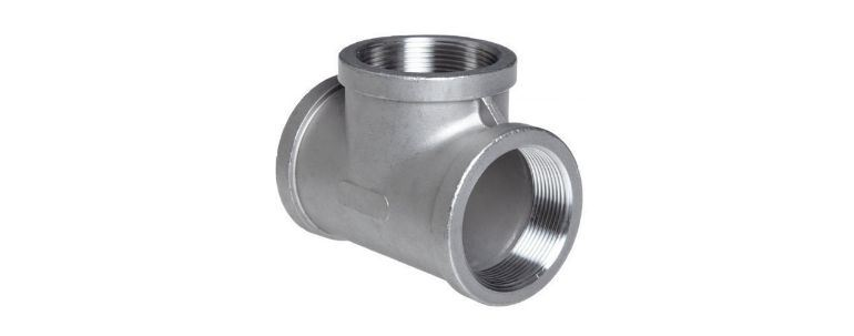 Stainless Steel Pipe Fitting 904l Tee manufacturers exporters in Mumbai India