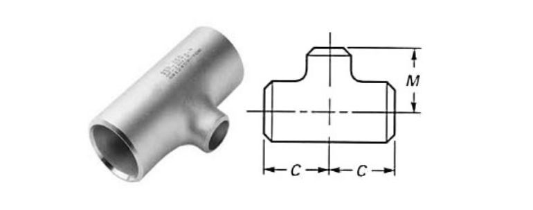 Stainless Steel Pipe Fitting 304l Tee manufacturers exporters in Netherlands