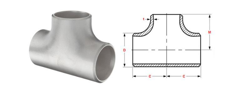 Stainless Steel Pipe Fitting 310 / 310S Tee manufacturers exporters in Nigeria