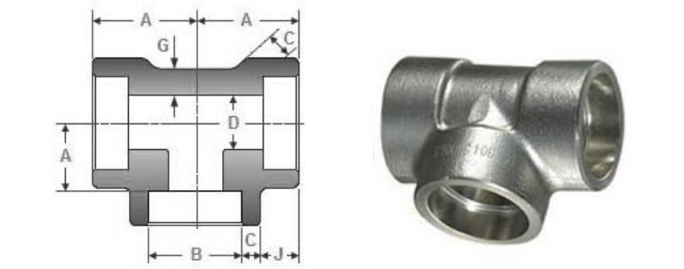 Stainless Steel Pipe Fitting 310h Tee manufacturers exporters in Singapore
