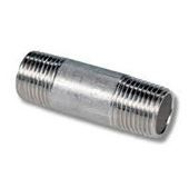 Stainless Steel Pipe Fitting Nipple Manufacturers Exporters Suppliers Dealers in Mumbai India