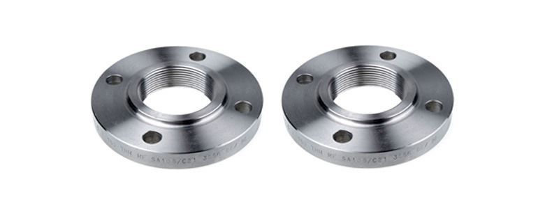 Stainless Steel Threaded Flanges Manufacturers Exporters in Mumbai India