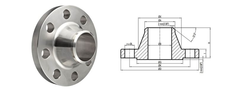 Stainless Steel Weld Neck Flanges Manufacturers Exporters in Mumbai India